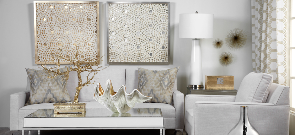 Home Decor Mixed Metals