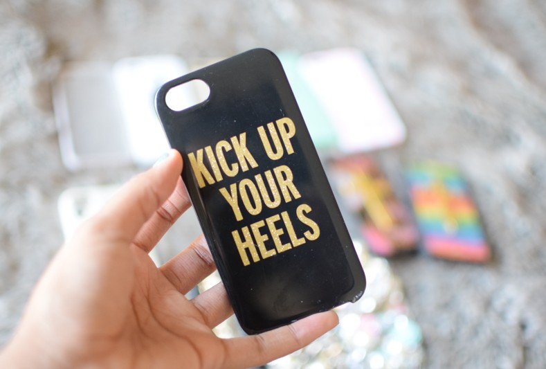 Kate Spade Kick Up Your Heels iPhone Case
