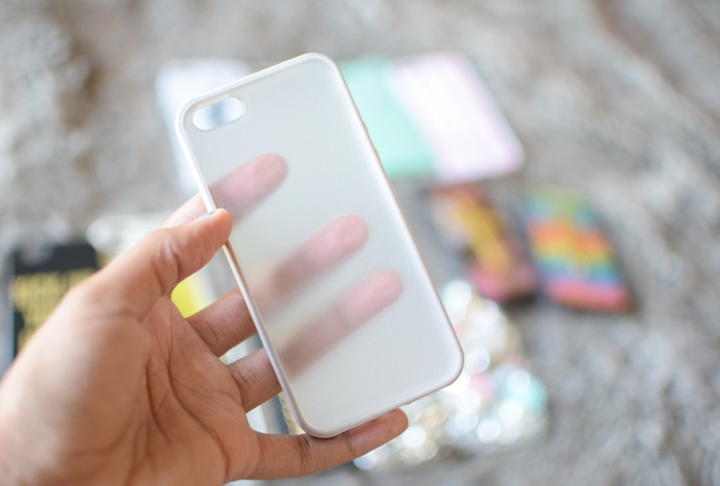 Clear Back iPhone Case