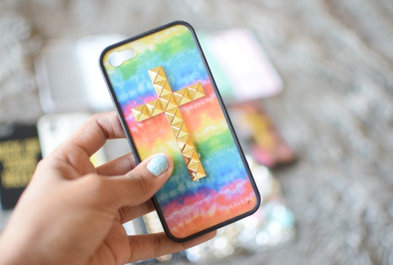 Wildflower Tie-Dye Summer Colorful iPhone Case