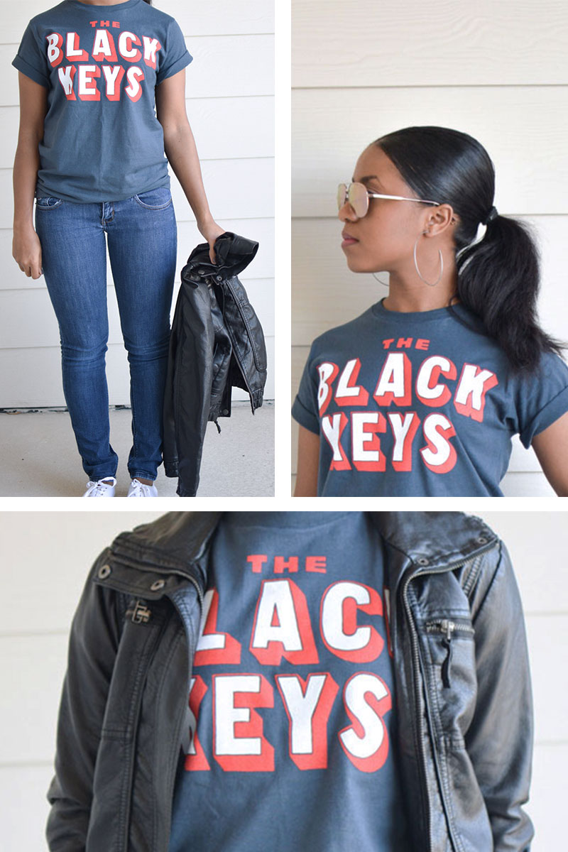 Black keys t shirt uk -  Tshirt The Black Keys Tee Ootd