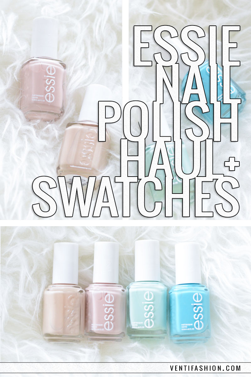 essie polishes spring collection