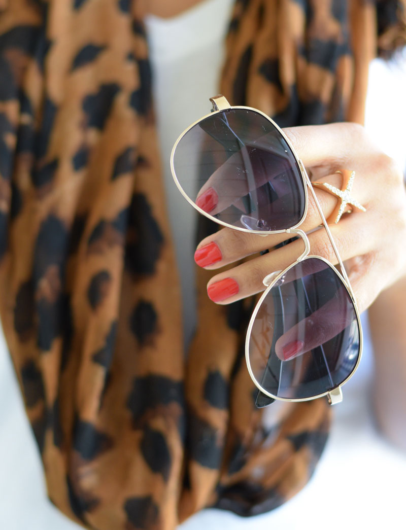 Styling the Aviator Sunglasses