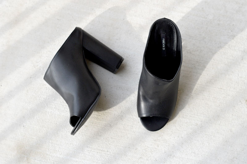 Fashion Trends - Backless Shoes and Mules