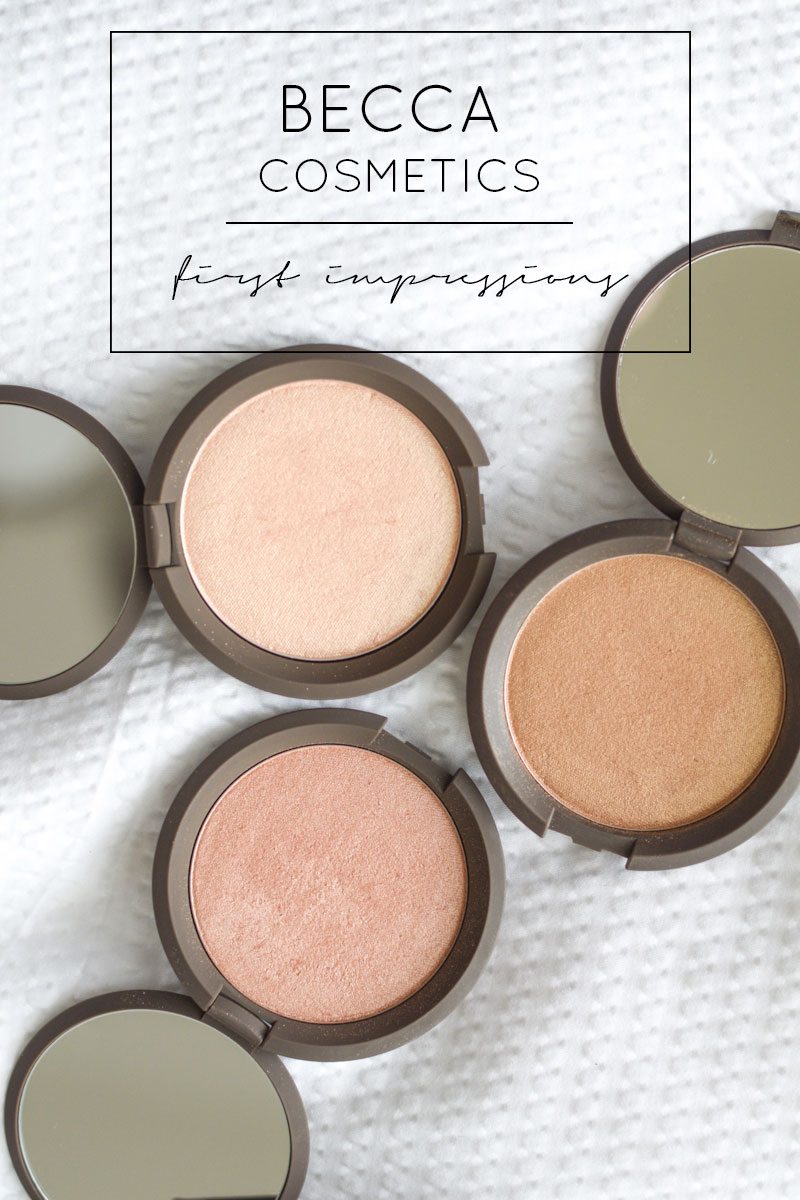 BECCA Cosmetics Haul with Swatches