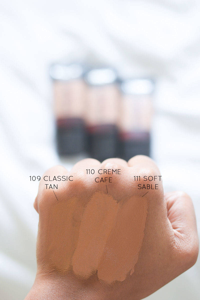 Loreal-Pro-Matte-Blended-Swatches-for-WOC