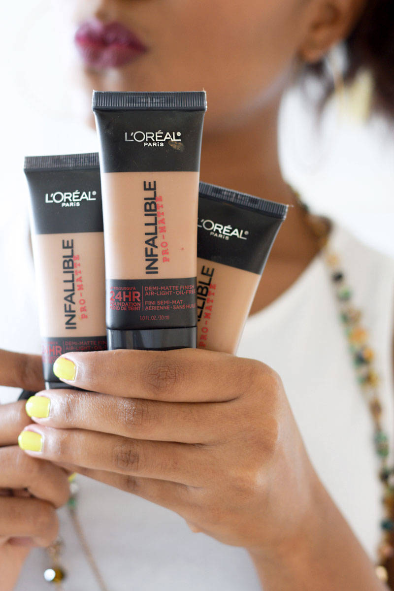 Loreal Pro Matte Foundation Review Infallible 24hr 2