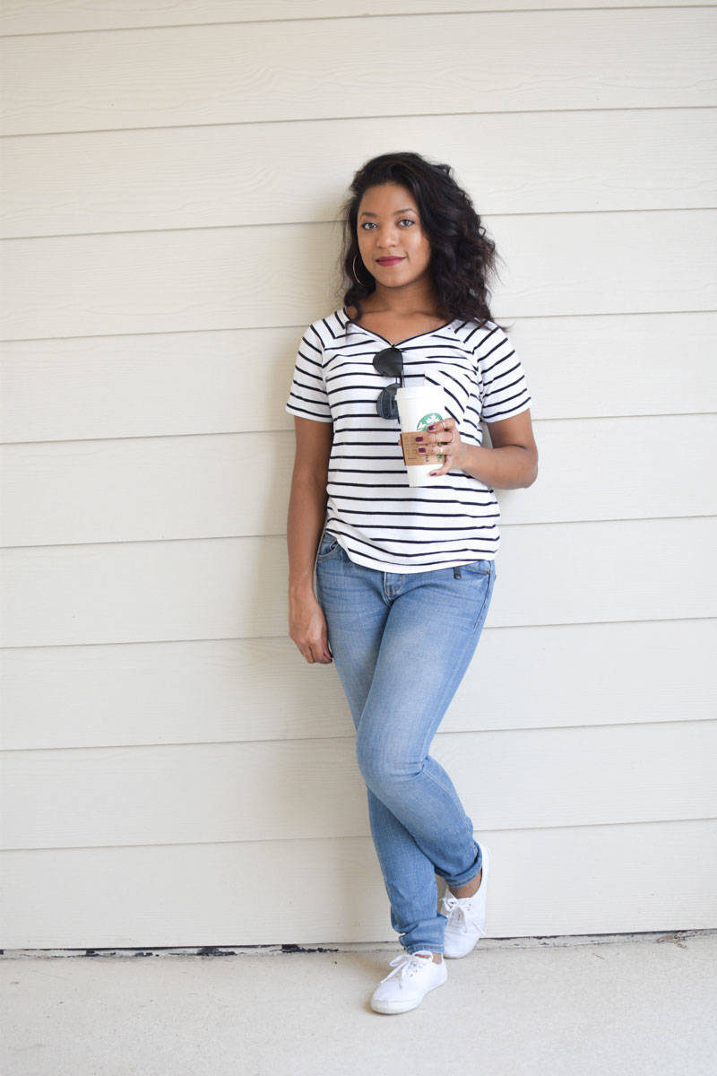 Topshop-Simple-Striped-Tee-1