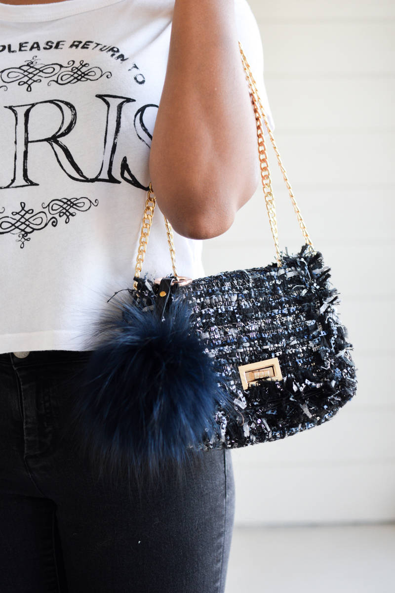 Tweed-Bag-and-Navy-Pom-Pom