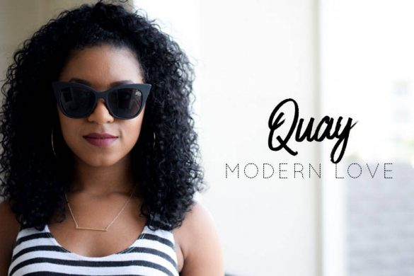 Quay Modern Love Sunglasses Try On