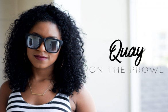 Quay On The Prowl Sunglasses Try On