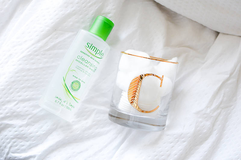 Simple Micellar Water for Makeup Removal