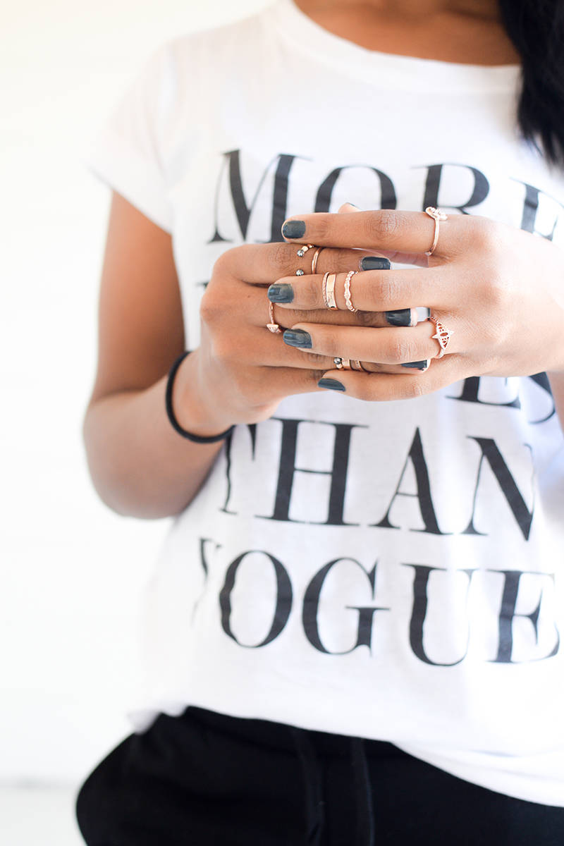 Stacking Midi Rings