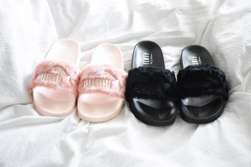 7353e0ca9fa All About the Fenty x Puma Leadcat Fur Slides