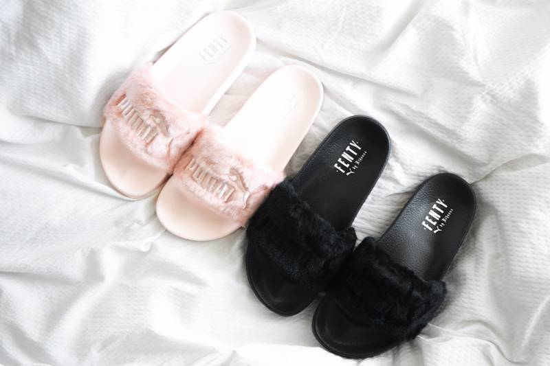 289ea49ade99 All About the Fenty x Puma Leadcat Fur Slides