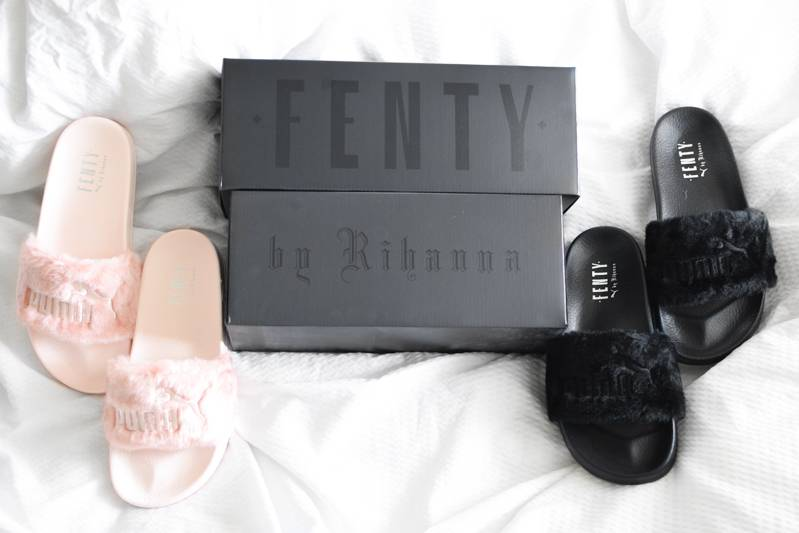 All About the Fenty x Puma Leadcat Fur Slides f511c202e