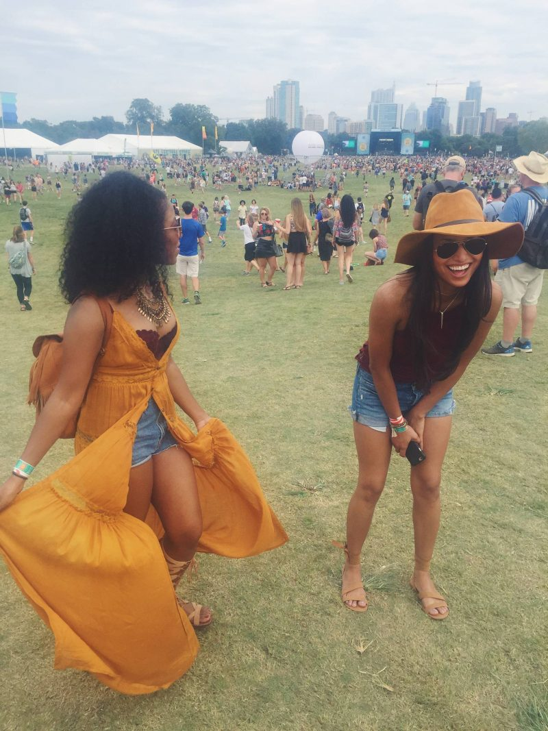 Styling a Maxi Dress for a Music Festival