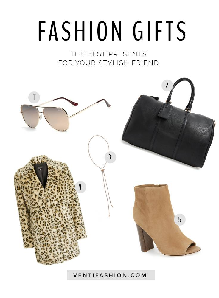 5 Gift Ideas for the Trendy Friend