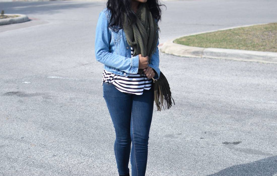 How to Style Double Denim