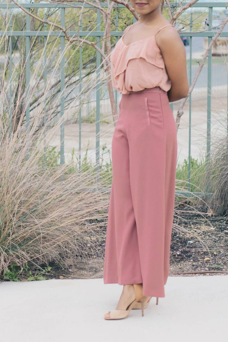 Styling Wide Leg Trousers for the Office-1