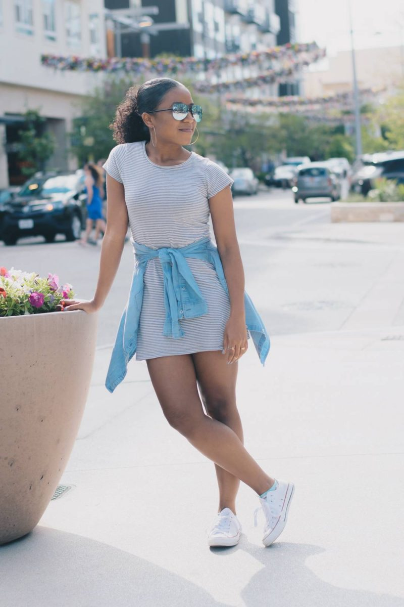 How to Style the Tshirt dress