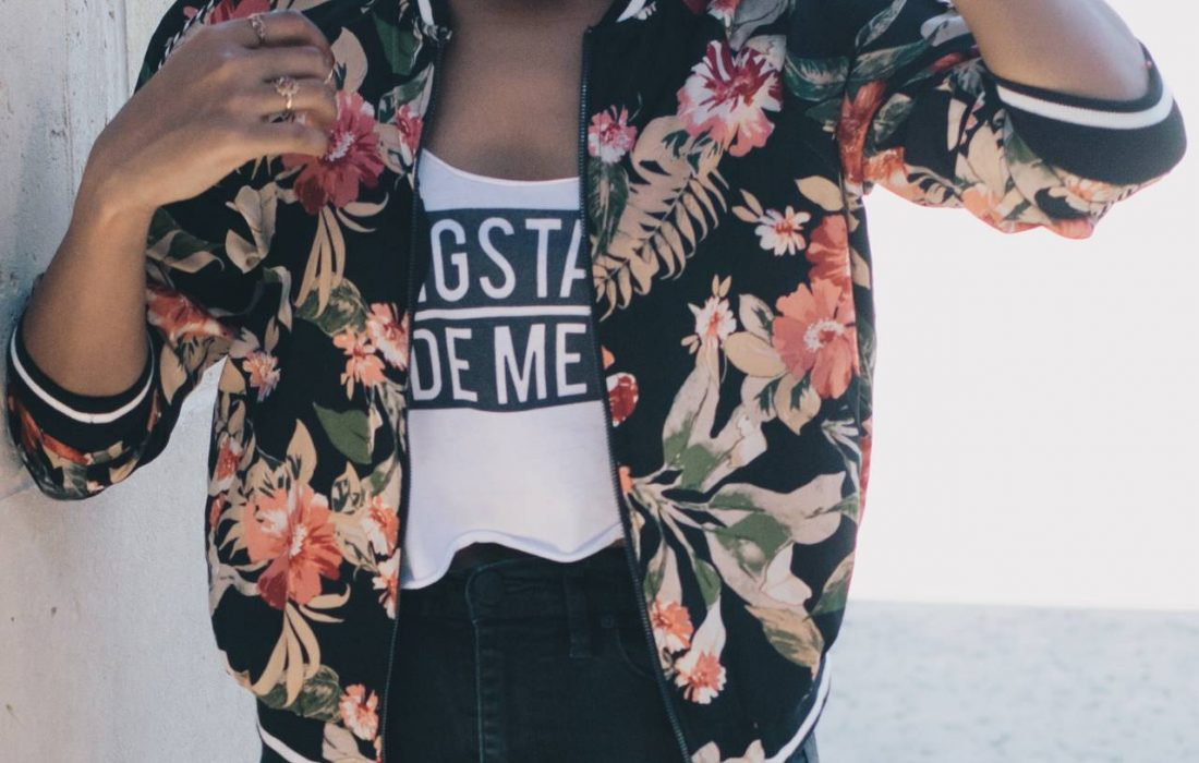 The Floral Print Jacket