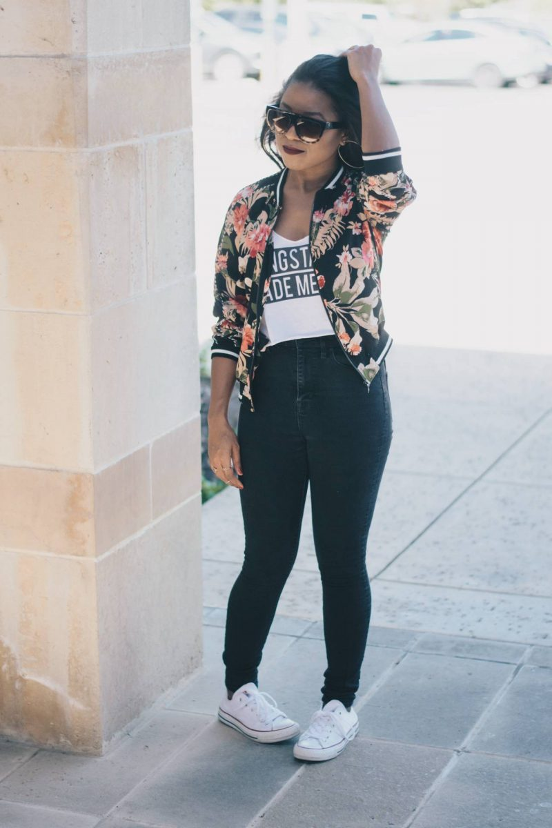 The Floral Print Jacket-1