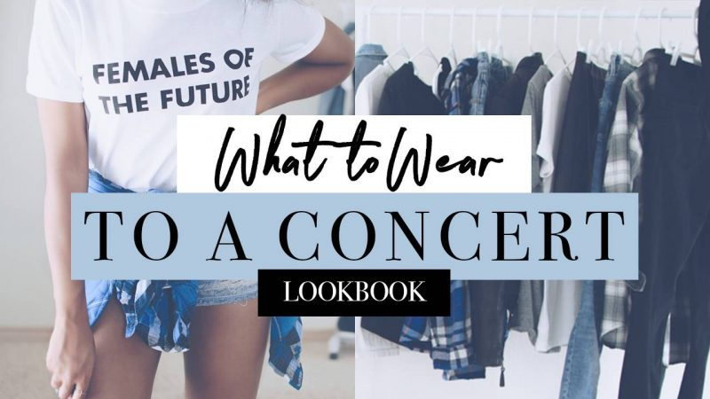 concert lookbook outfit ideas