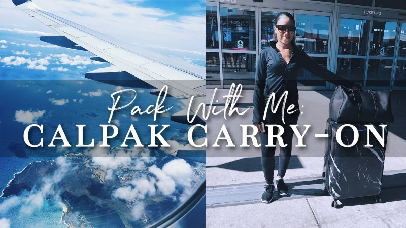 Pack With Me | Calpak Marble Carry-On