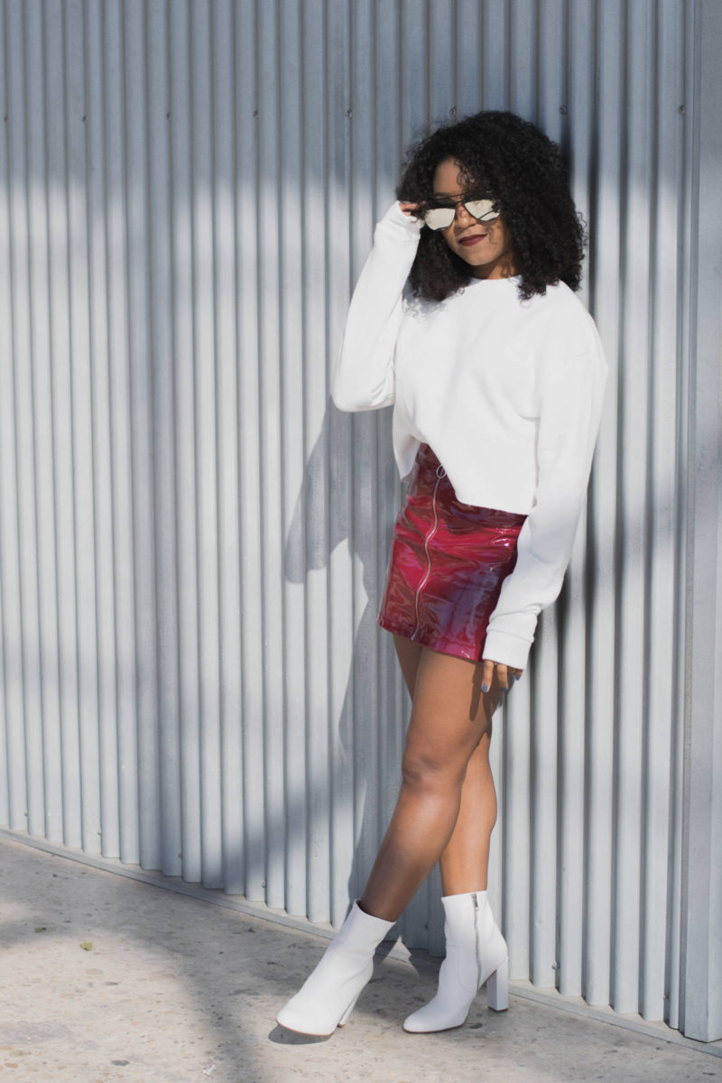 Style Cropped Sweatshirt Outfit