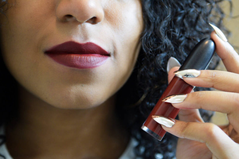 best red liquid lipsticks for dark skin