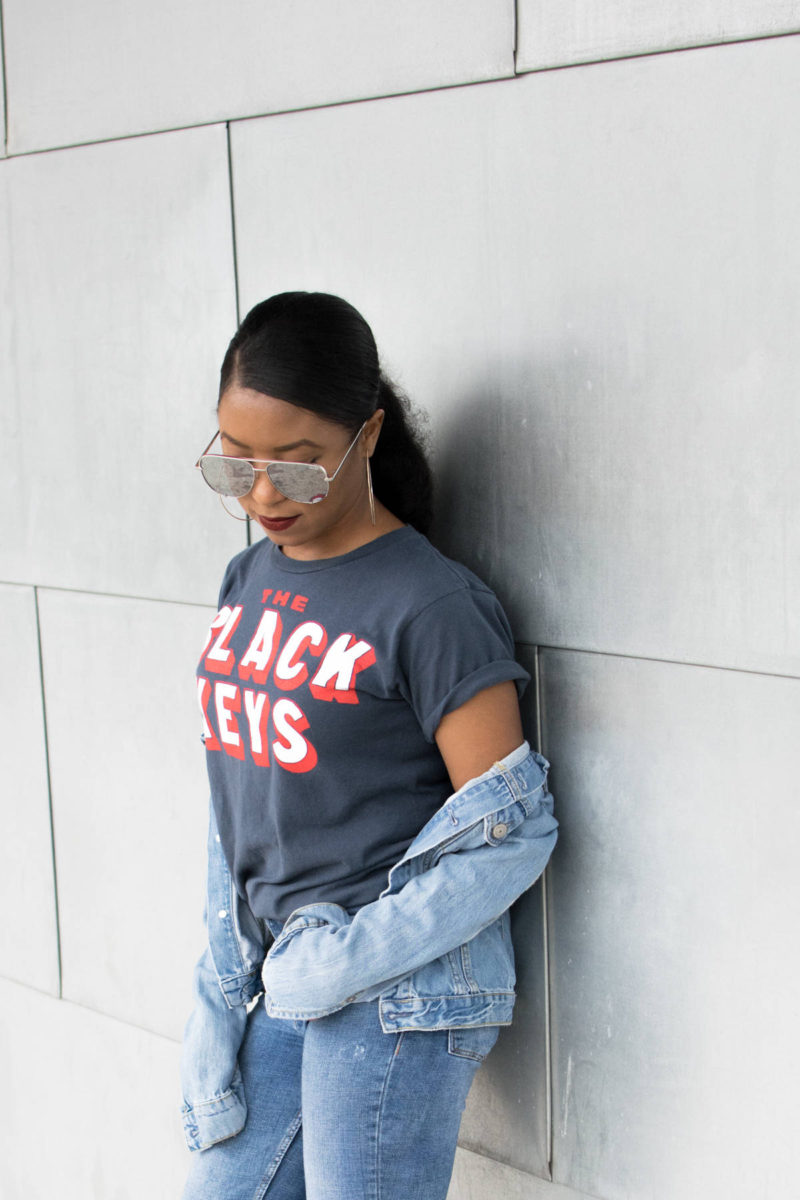 graphic tee outfit ideas