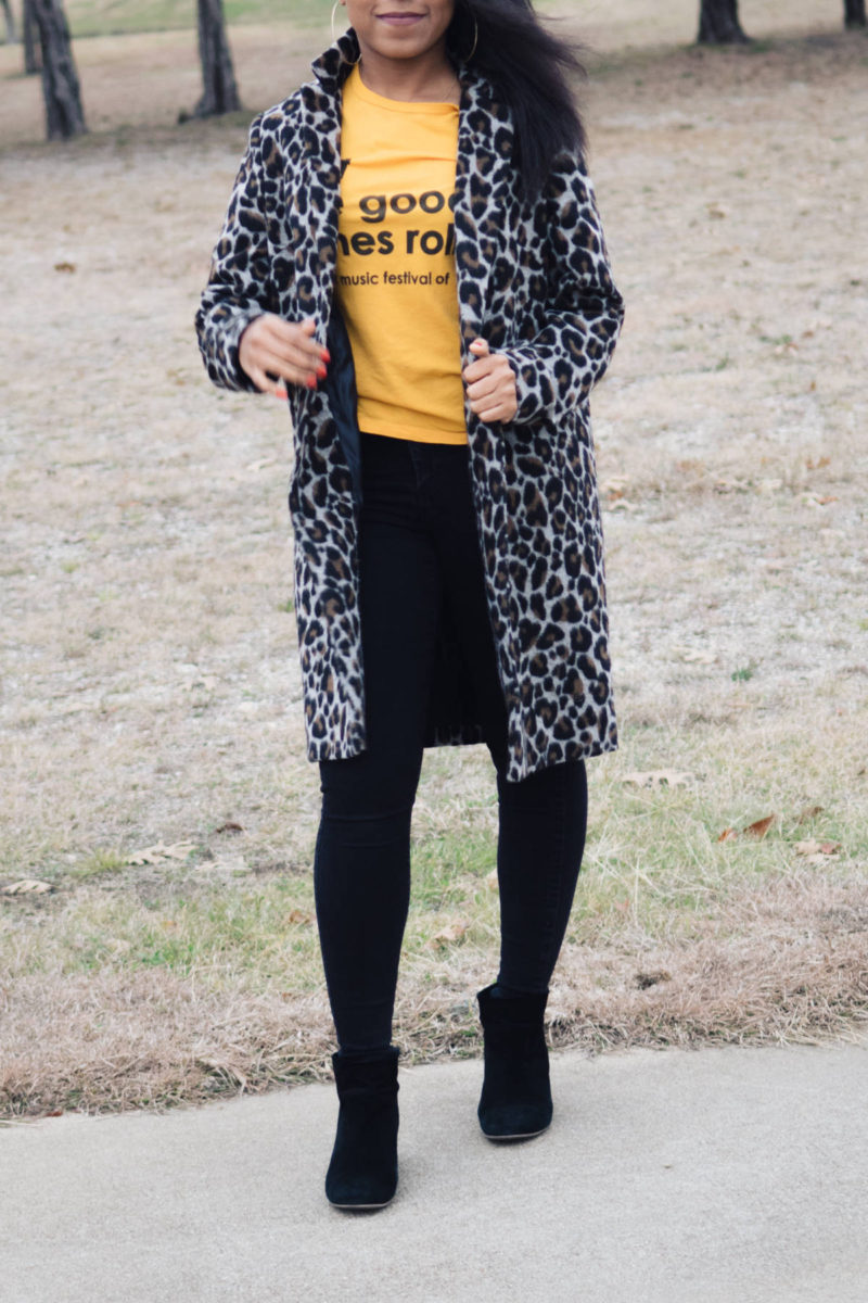 leopard print coat styling tips