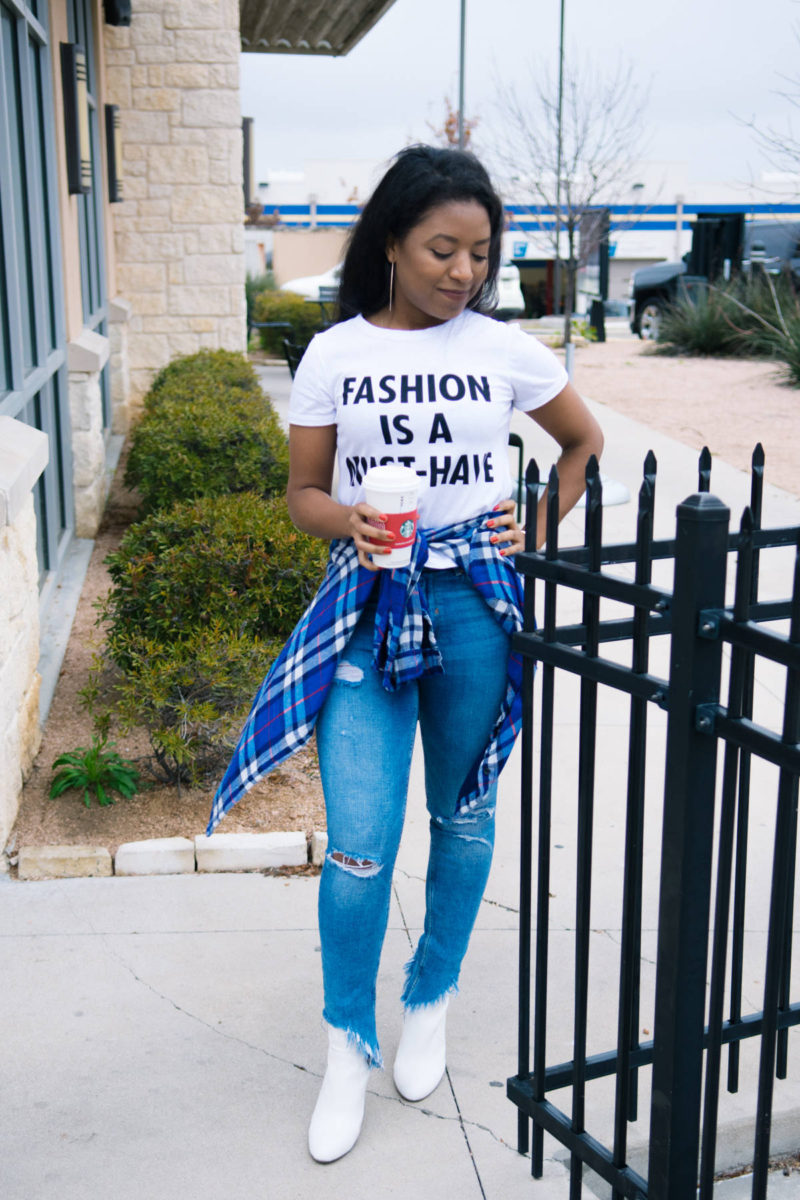 the fashion must-have tee