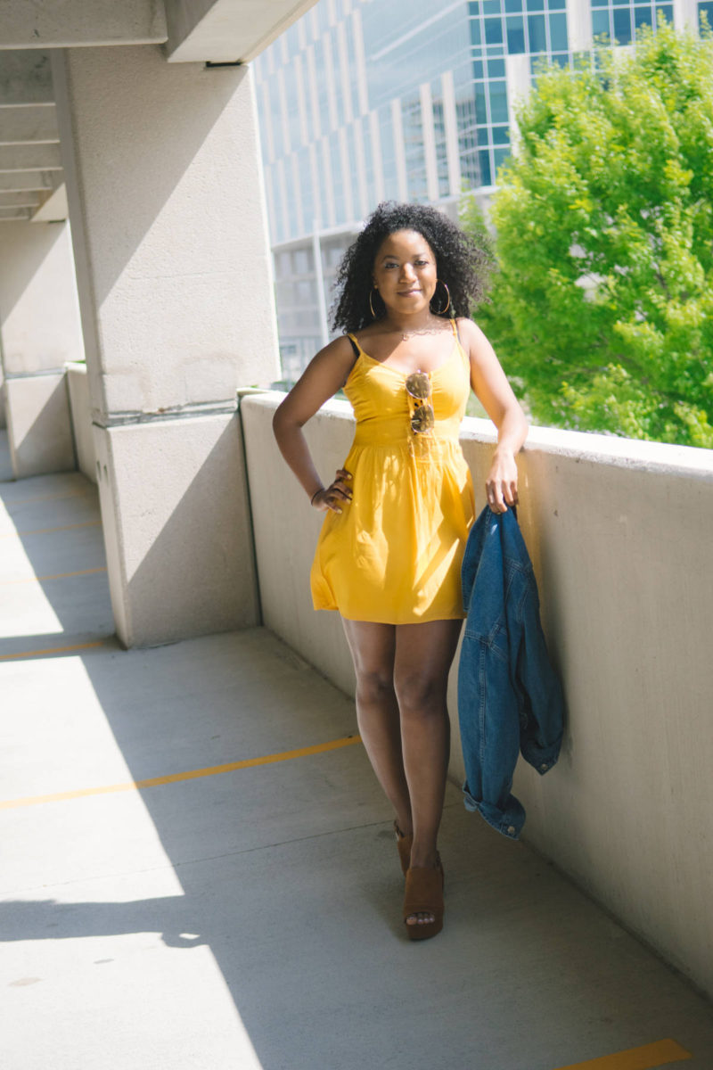 styling yellow dresses for spring
