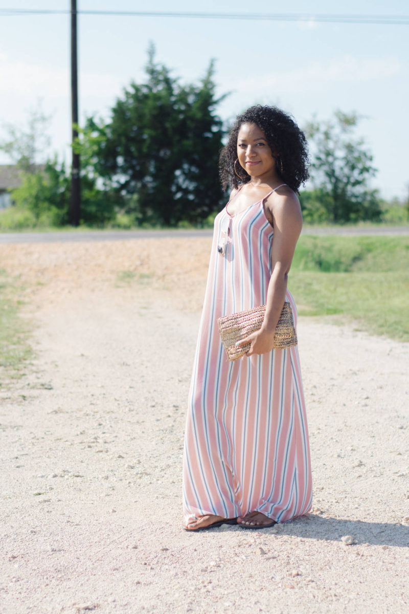 striped maxi dress forever 21