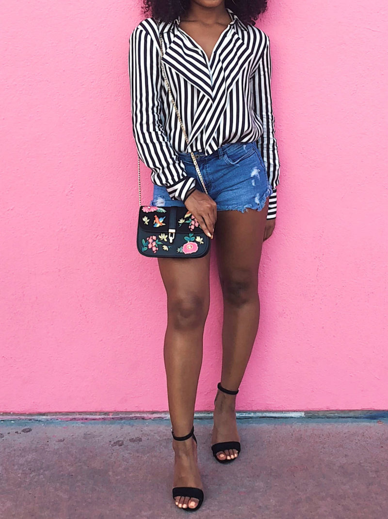 Mixing Prints with Topshop and Zara