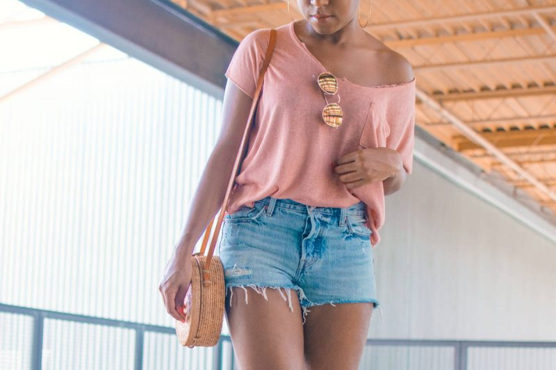 Trying Trends   The Straw Bag OOTD + Style Tips