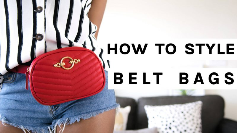 How to Style Belt Bags | 7 Easy Outfit Ideas