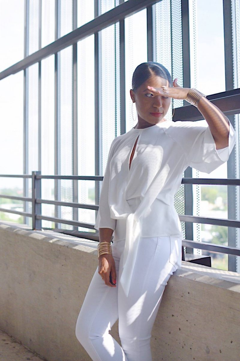 Styling All White   Simple and Chic OOTD