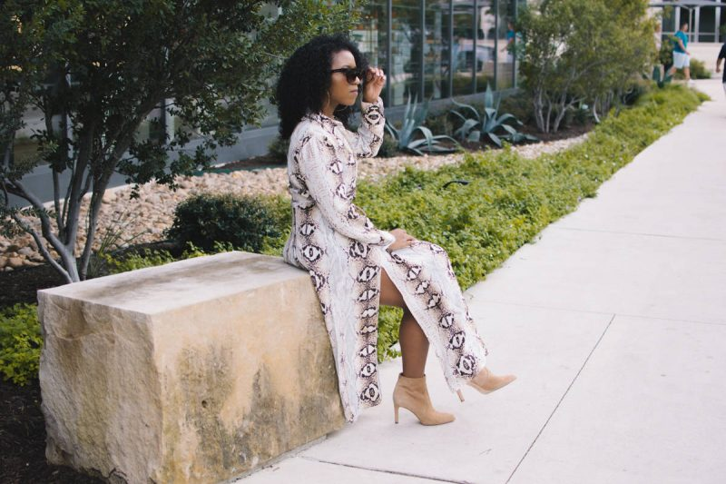Trend Report | How to Add Snake Print to Your Closet