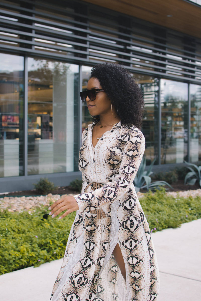snake print trend outfit ideas