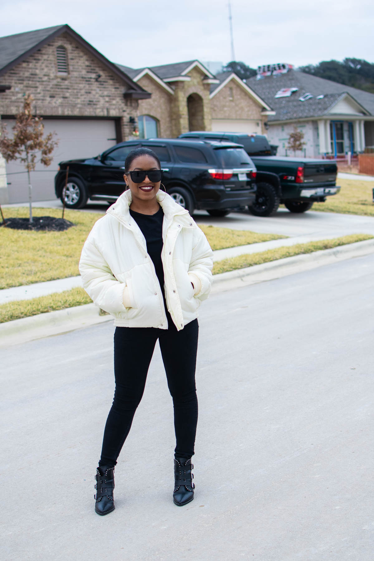how to style the puffer coat