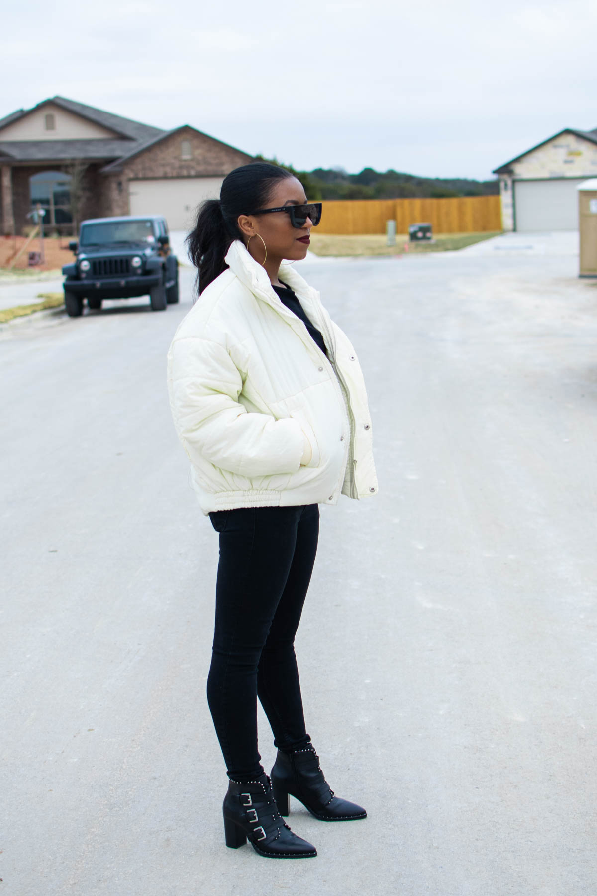 style puffer jacket coats for women