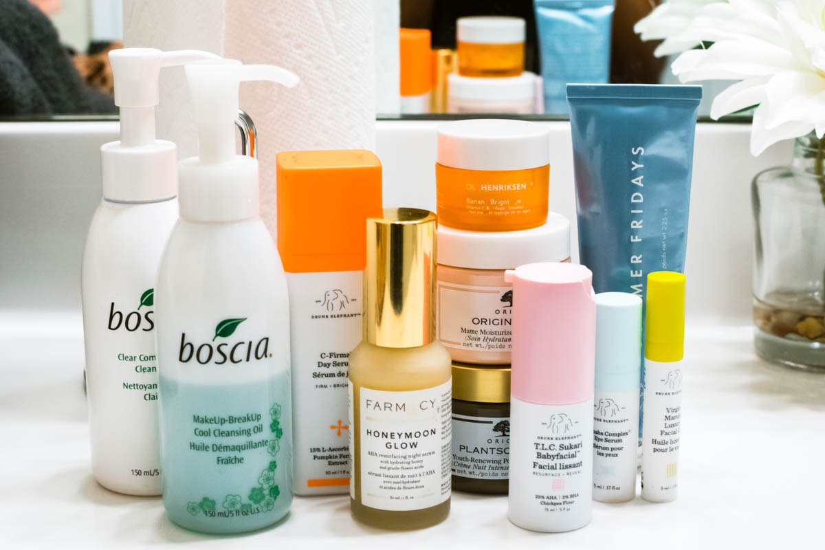 the best skincare routine products
