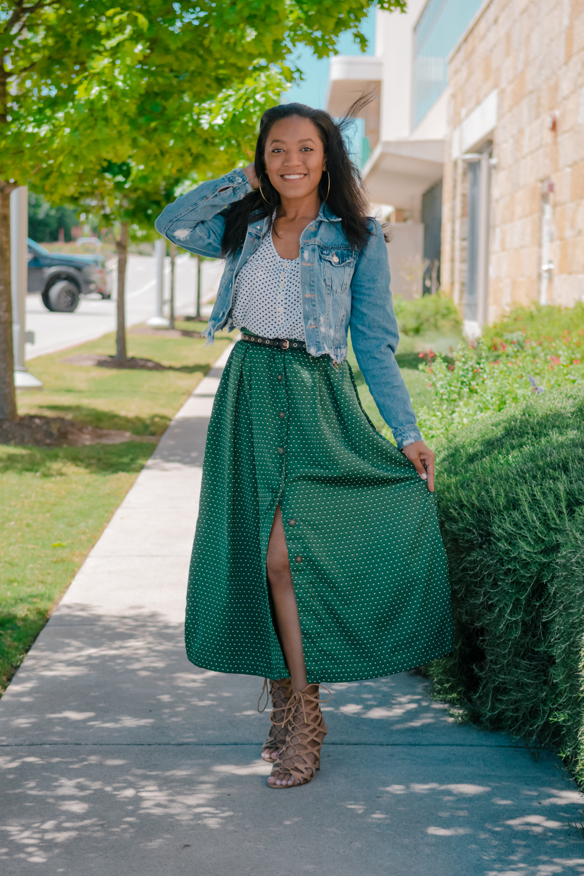 How to Wear Long Skirts if You're Short   Venti Fashion