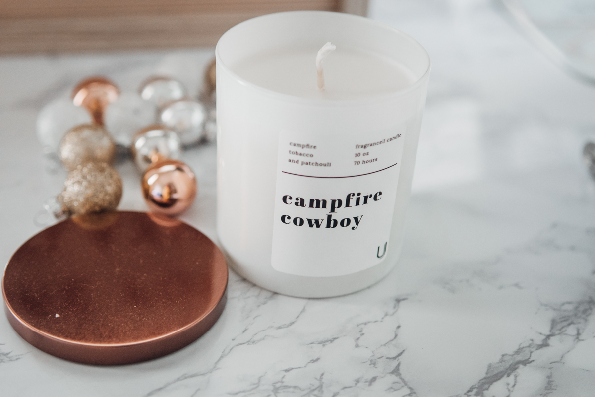 uncommon james campfire cowboy candle