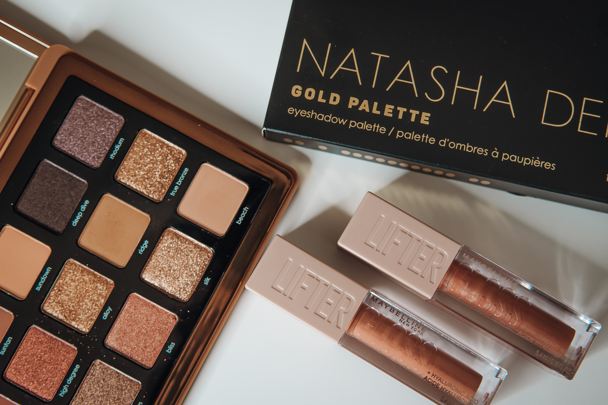 natasha denona bronze palette beauty products haul