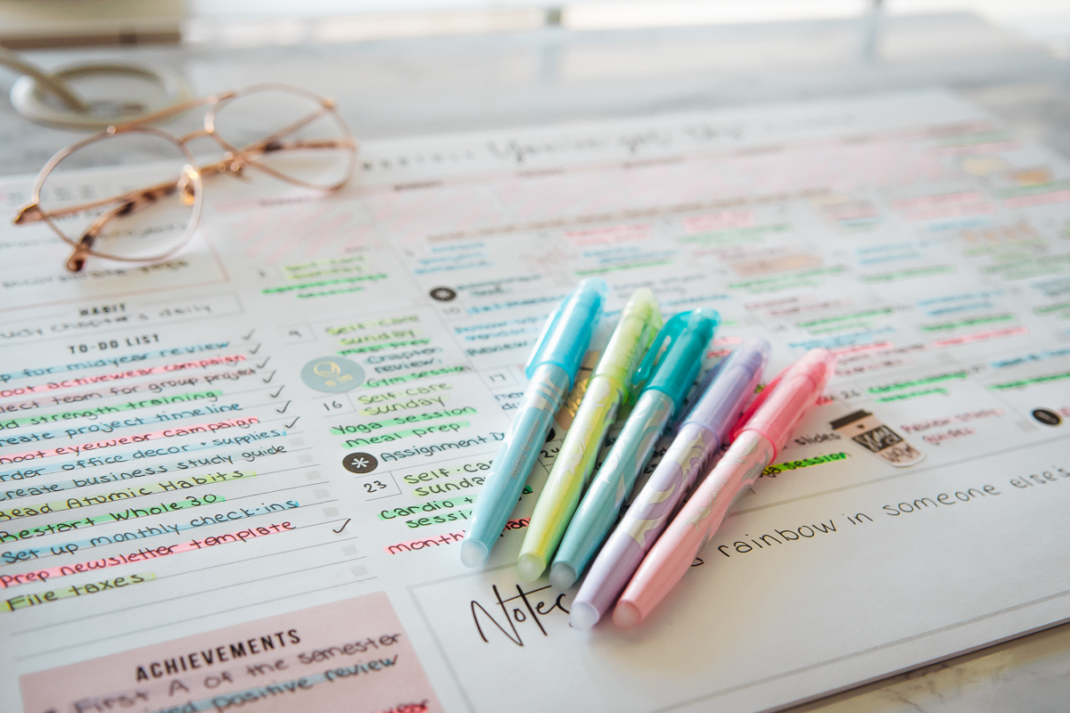 fun ways to add color to your office desk decor