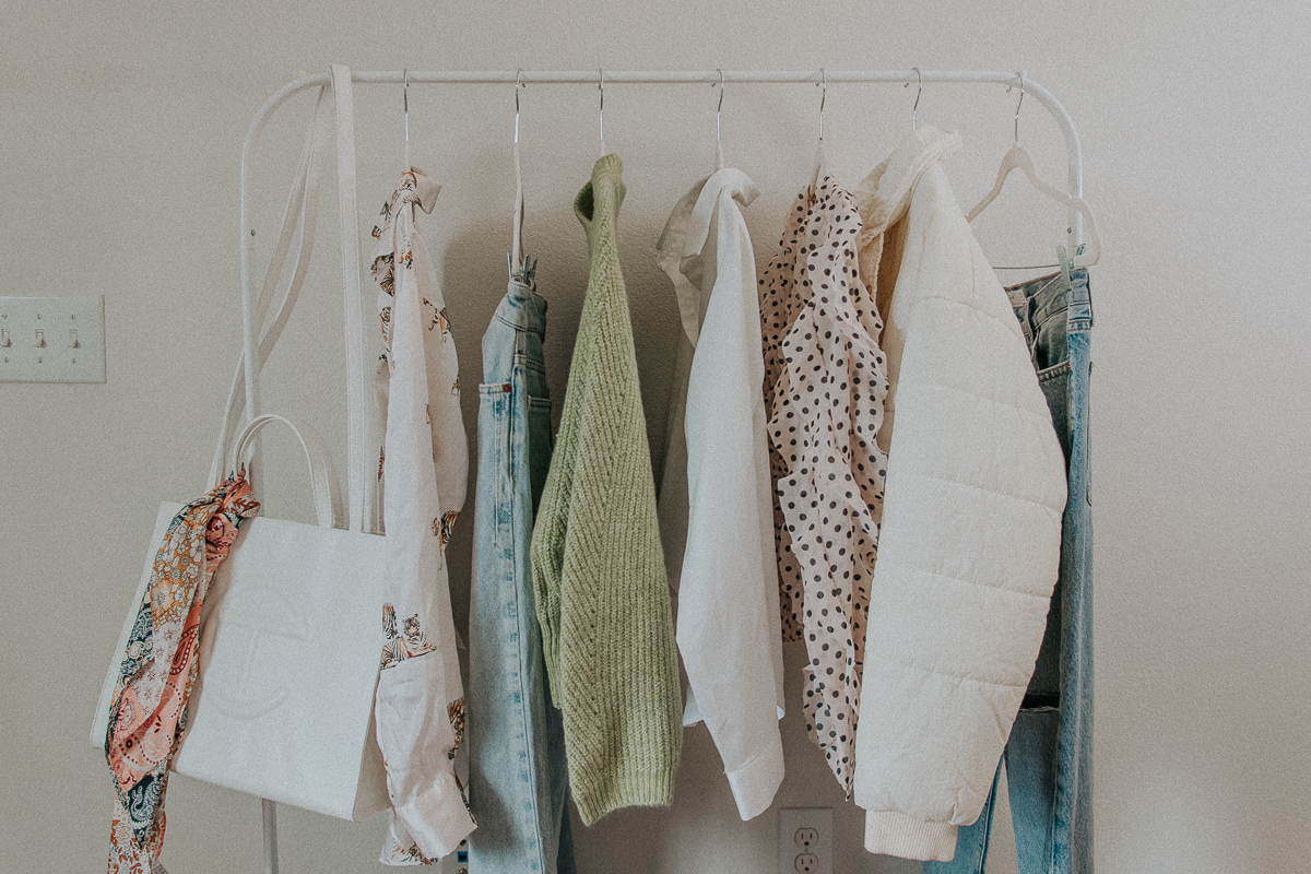 Spring Clothing Rack Style